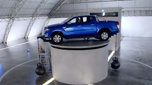 福特Ranger皮卡 超高强度车身五星安全