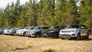 八款豪华家用SUV齐聚 外媒对比试驾