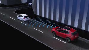 新款标致2008 主动式刹车系统解析