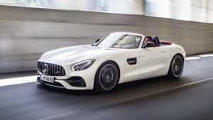 奔驰AMG GT Roadster 百公里加速4秒