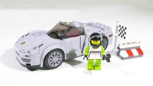 巧手组装超级跑车 保时捷918 Spyder