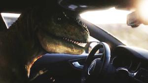 霸王龙回归被惊呆 奥迪RS7自动驾驶技术