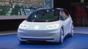 2016巴黎车展 大众I.D.概念车发布