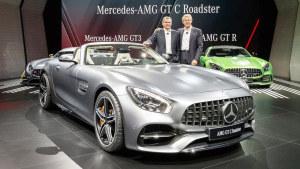 2016巴黎车展 奔驰AMG GT C Roadster