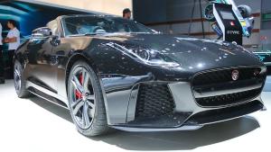 2016巴黎车展 捷豹F-Type SVR内外实拍