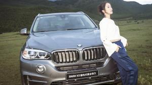 江一燕携手彭坦 体验BMW电动驾趣之旅