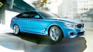 新款宝马3系GT 匹配8速手自一体变速箱