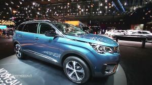 全新一代标致5008发布 中型7座SUV