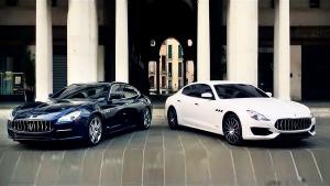 玛莎拉蒂Quattroporte 总裁系列轿车
