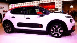2017款雪铁龙C3小型SUV 巴黎车展实拍
