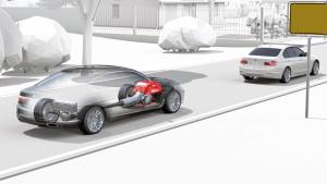 新宝马7系 发动机节能自动启停功能展示