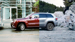 新款Jeep大切诺基 支持侧方位自动泊车