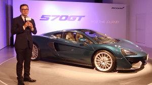 解读迈凯伦570GT 旗下最舒适超跑
