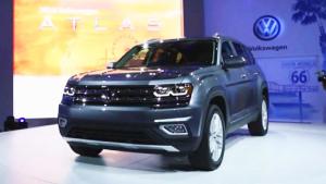 2018款大众Atlas七座SUV发布 明年国产