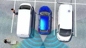 福特蒙迪欧 两侧来车盲区预警监测系统