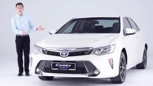 丰田新凯美瑞混动版 解析车型配置亮点