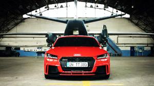 全新奥迪TT RS 搭载涡轮增压引擎