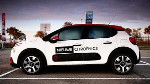 新雪铁龙C3登陆荷兰 定位小型两厢车