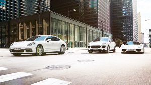 保时捷E驱高效动力车型 展现极致性能