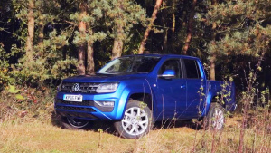 新款大众Amarok皮卡 搭3.0T V6柴油引擎