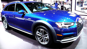 2017款奥迪A4 Allroad 约售30万元