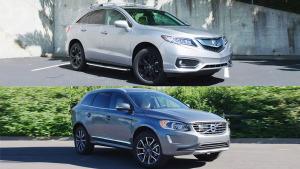 豪华SUV对决 沃尔沃XC60对比讴歌RDX