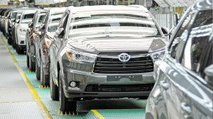 大七座SUV诞生过程 实拍丰田汉兰达车间