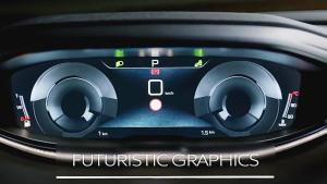 新款标致3008 配备HUD平视显示器
