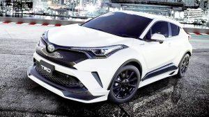 2017款丰田C-HR 九种个性化套件展示
