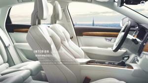 沃尔沃全新S90匠心内饰 北欧客厅式设计