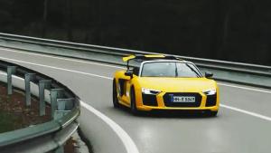 全新奥迪R8 Spyder 极速登场动感十足