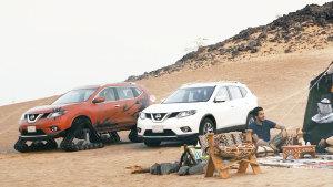 对抗沙漠 日产新奇骏配全模式四驱系统