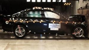 2017款奥迪A4 NHTSA正面碰撞测试