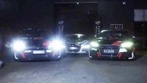 激情肆放 奥迪R8/高尔夫GTI/奥迪RS3
