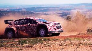 雪铁龙C3 WRC基于C3打造 底盘全面升级