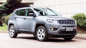 2017款Jeep指南者 外观整体造型硬朗