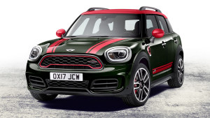 全新MINI COUNTRYMAN JCW 外观设计凶狠
