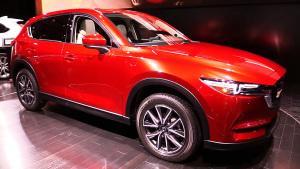 2017款马自达CX-5 车身造型更犀利