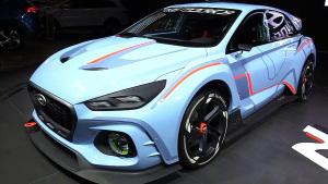 现代RN30 Sport赛车概念车 极具设计感