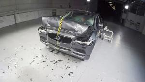 全新沃尔沃S90 E-NCAP碰撞测试获五星