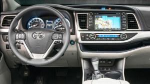 2017款丰田汉兰达 配8速手自一体变速器