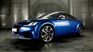 新奥迪TT RS Coupe 零距离接触