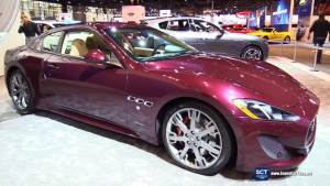 2017芝加哥车展 全新玛莎拉蒂GT Sport
