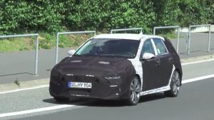 2017日内瓦车展 现代i30 N即将亮相