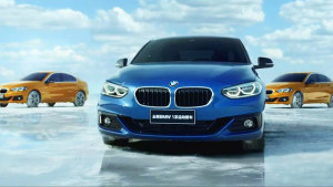 全新BMW 1系运动轿车 上演苍穹掠地