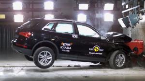 全新奥迪Q5 E-NCAP碰撞测试获五星