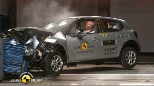 全新雪铁龙C3小型SUV E-NCAP碰撞测试