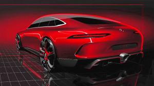 日内瓦车展 奔驰AMG GT概念车将首发