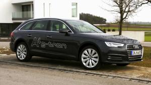 奥迪A4 Avant g-tron 低碳环保双燃料车