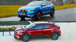 日系SUV比拼 丰田C-HR对比全新日产逍客
